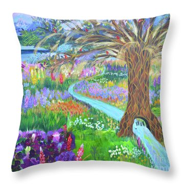 Hesed His Steadfast Love Throw Pillow