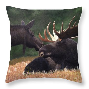 Hesitant Throw Pillow