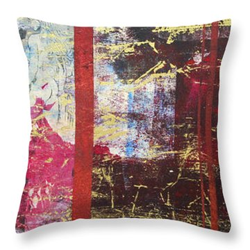 Hesitation Marks Throw Pillow