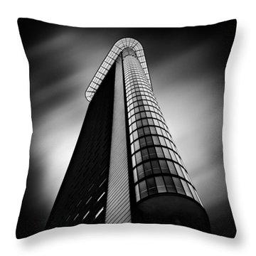 Het Strijkijzer Throw Pillow by Dave Bowman