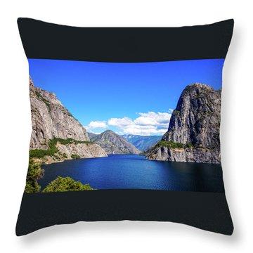 Hetch Hetchy Reservoir Yosemite Throw Pillow