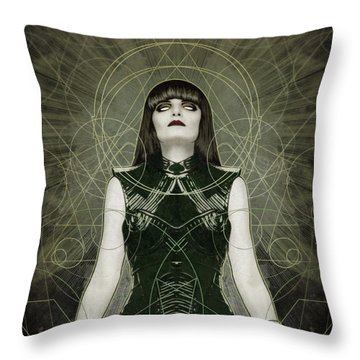 Hexymphony Throw Pillow