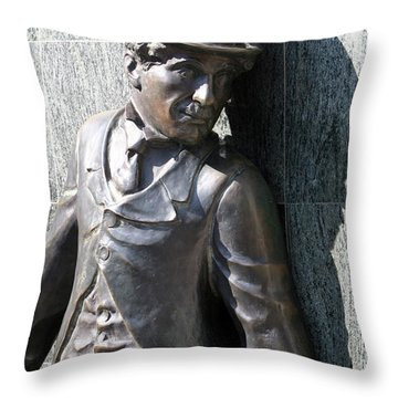 Hey Charlie #2 Throw Pillow