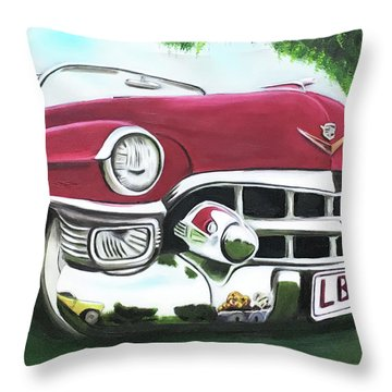 Hey Hey Lbj Throw Pillow