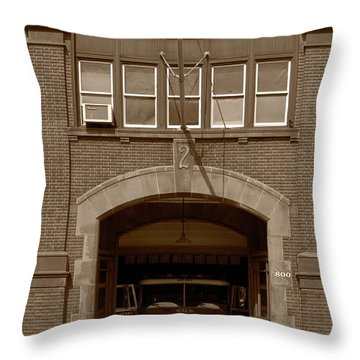 Throw Pillow featuring the photograph Hey, What Ya Doing? by Dennis Dame