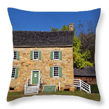 Hezekiah Alexander Homesite Throw Pillow