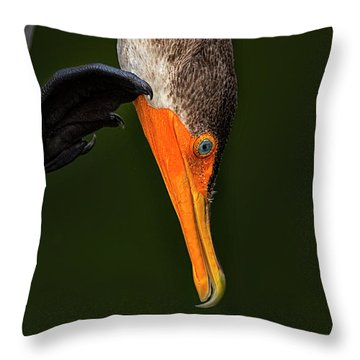 Hi... Throw Pillow