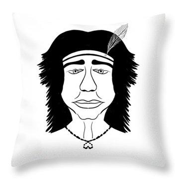 Hiawatha Throw Pillow