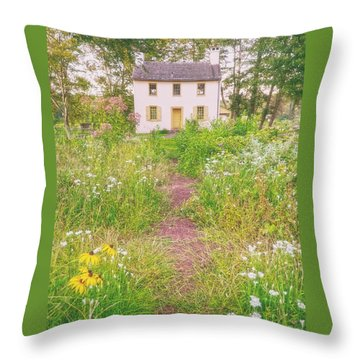 Hibbs House Throw Pillow
