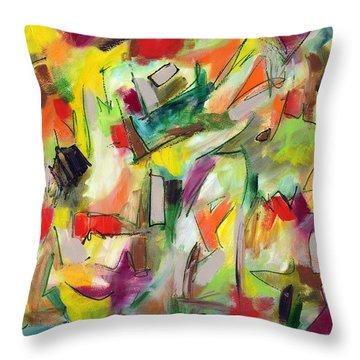 Hibernation Throw Pillow by Lynne Taetzsch