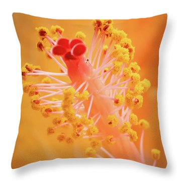 Hibiscus-1 Throw Pillow