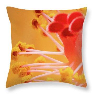 Hibiscus-2 Throw Pillow