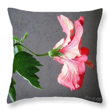Hibiscus #4 Throw Pillow