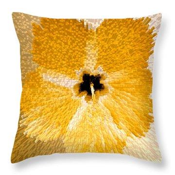 Hibiscus Explosion Throw Pillow