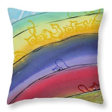 Hidden Angels  Malacheem Nehaleem Throw Pillow