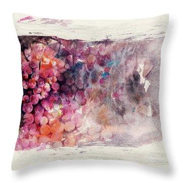 Hidden Beauty Throw Pillow by Rachel Christine Nowicki