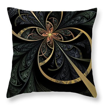 Hidden Depths Throw Pillow by John Edwards