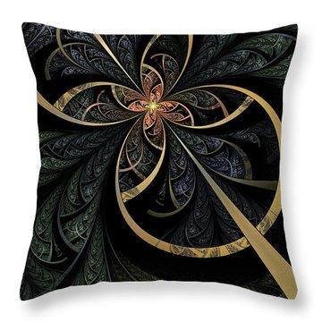 Hidden Depths Throw Pillow by John Edwards