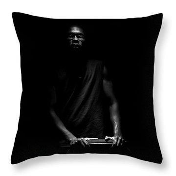 Throw Pillow featuring the photograph Hidden by Eric Christopher Jackson