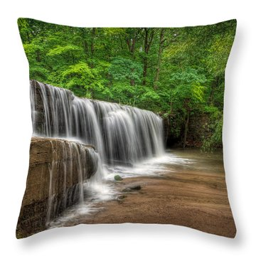 Hidden Falls  Throw Pillow