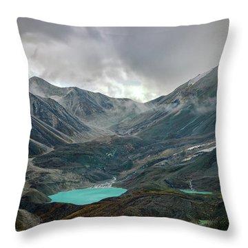 Throw Pillow featuring the photograph Hidden In Denali by Rick Berk