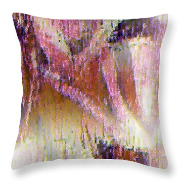 Hidden Throw Pillow by John Krakora