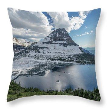 Hidden Lake Throw Pillow by Alpha Wanderlust