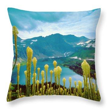 Hidden Lake, Gnp Throw Pillow