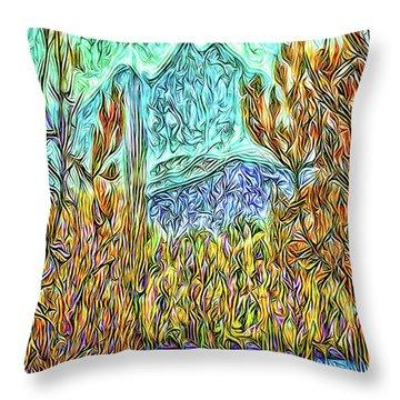 Hidden Lake Throw Pillow