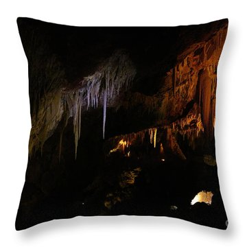 Hidden Light Throw Pillow by Oscar Moreno