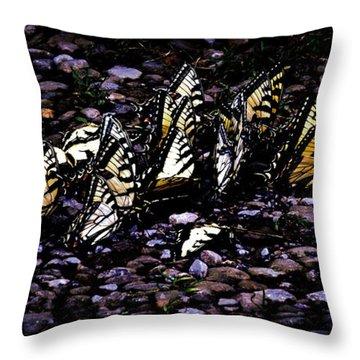 Hidden Magic Throw Pillow