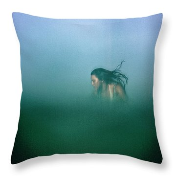 Hidden Throw Pillow