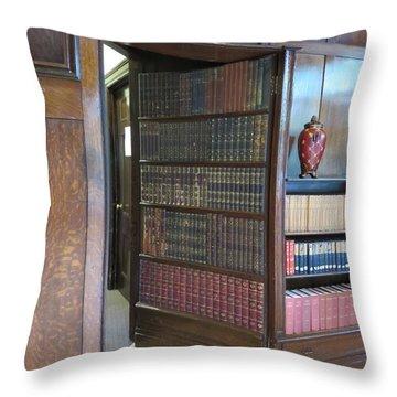Hidden Passages Throw Pillow