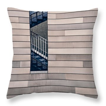 Hidden Stairway Throw Pillow