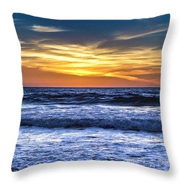 Hidden Sunset Throw Pillow by Randy Bayne