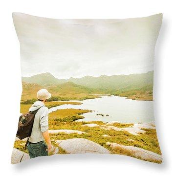 Hidden Tasmania Trails Throw Pillow