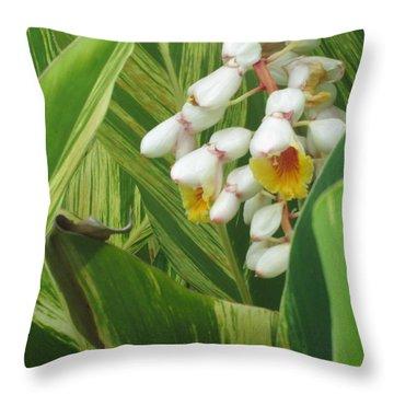 Hidden Tropic Throw Pillow