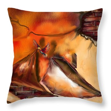 Hidden True Throw Pillow