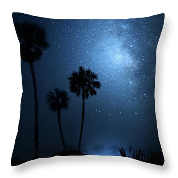 Throw Pillow featuring the photograph Hidden Worlds by Mark Andrew Thomas