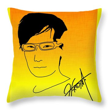 Hideo Kojima Throw Pillow