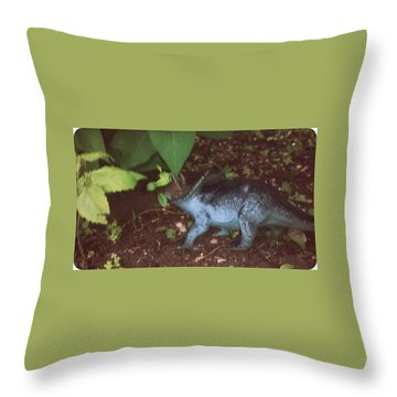 Hiding Dion Throw Pillow