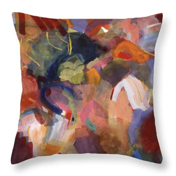 Hiding From Life Around Me Throw Pillow