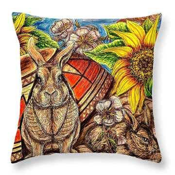Hiding In Plain Sight Throw Pillow