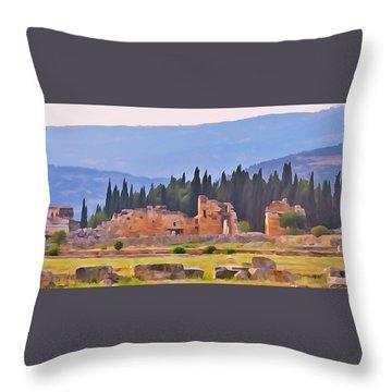 Hierapolis Throw Pillow