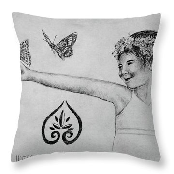 Hiers-baxley Throw Pillow