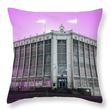 Higgins Armory In Infrared Throw Pillow