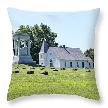 Higginsville  Missouri Throw Pillow