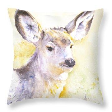 High Alert Throw Pillow