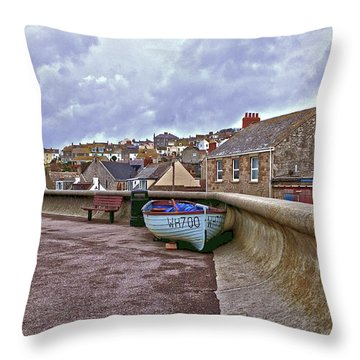 Throw Pillow featuring the photograph High And Dry by Anne Kotan
