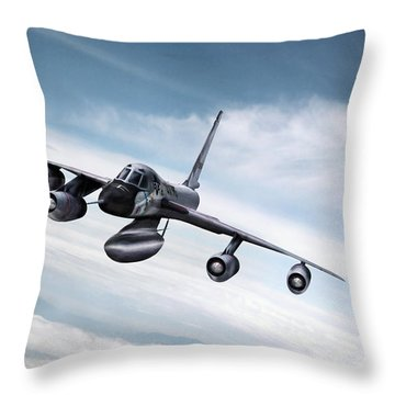 High And Mighty Throw Pillow